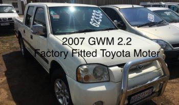 GWM Double/Cab 2.2 2007 full